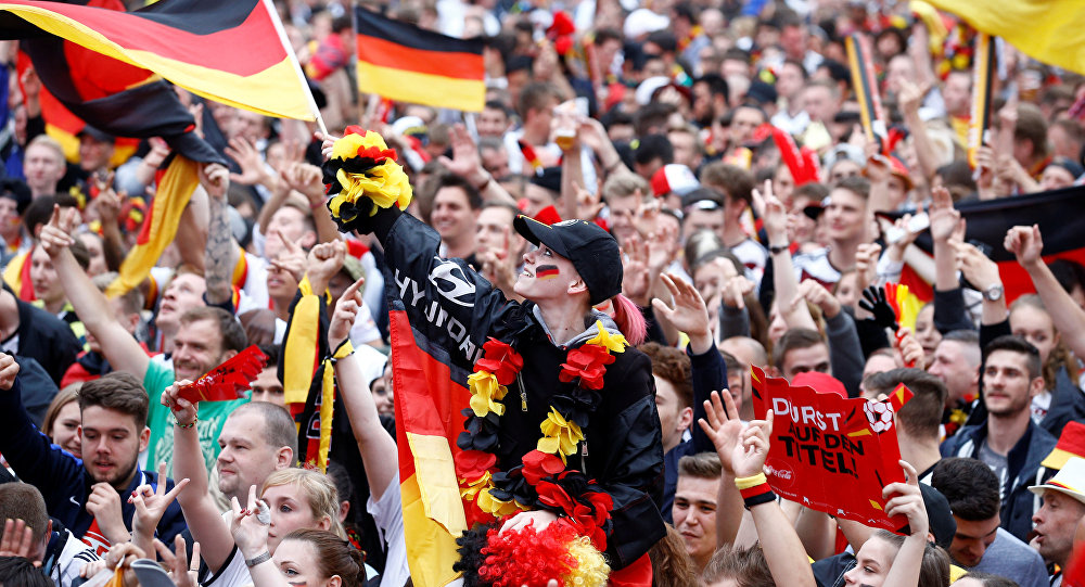 supporters allemands