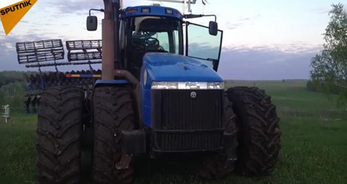 Un tracteur intelligent
