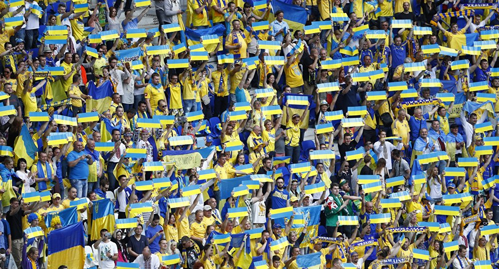 Supporters ukrainiens