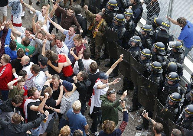 Les supporters de foot à Lille