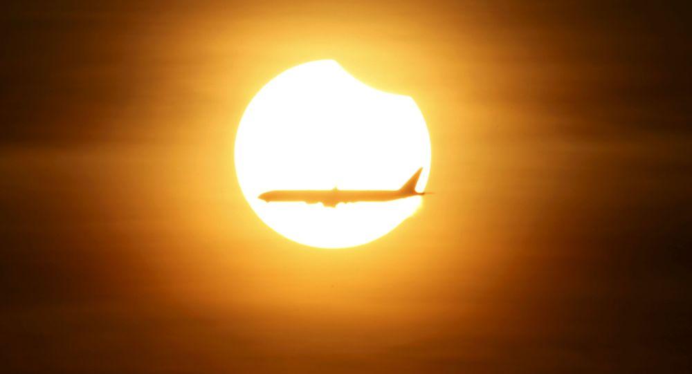Une éclipse solaire