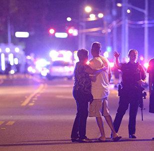 La police d'Orlando a bouclé le lieu de la fusillade au night-club Pulse