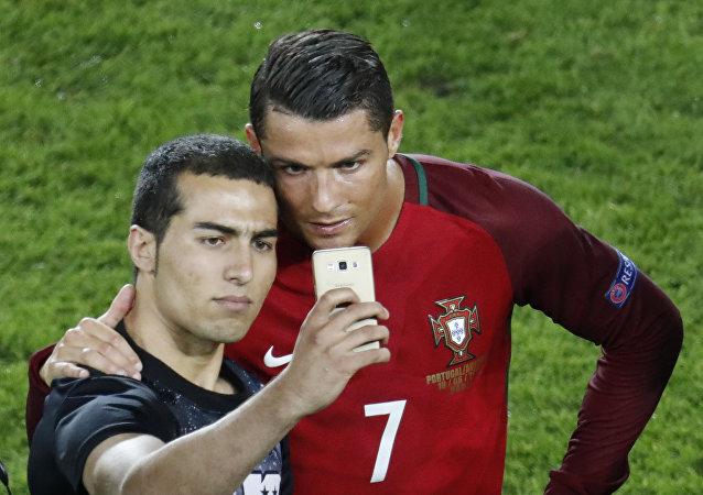 Cristiano Ronaldo et son fan