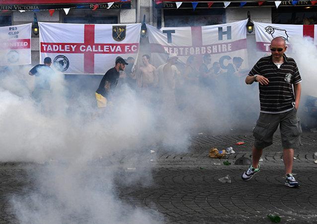 Euro 2016: les hooligans anglais font à nouveau parler d'eux