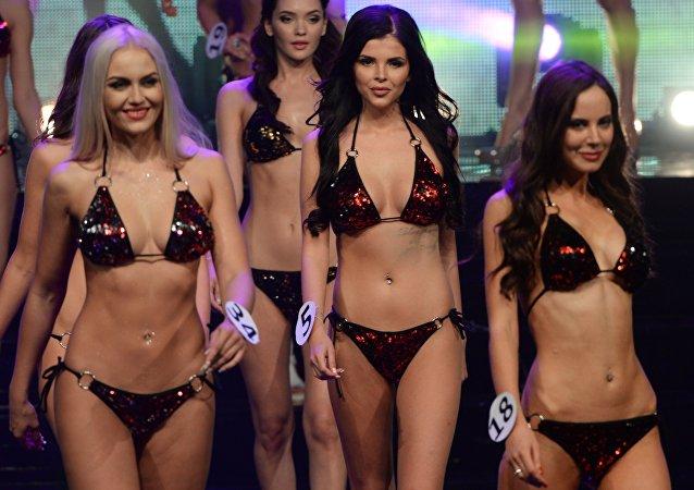 La finale du concours Miss Moscou 2016