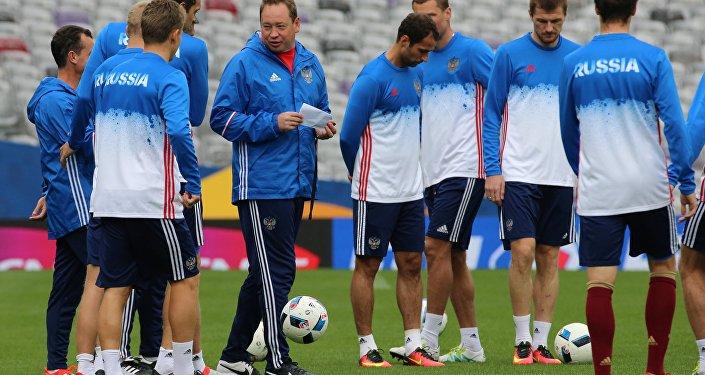 L'équipe russe s'entraîne à Toulouse avant le match contre le Pays de Galles