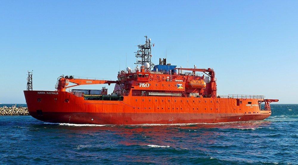 L'Aurora Australis est le brise-glace le plus puissant d'Australie