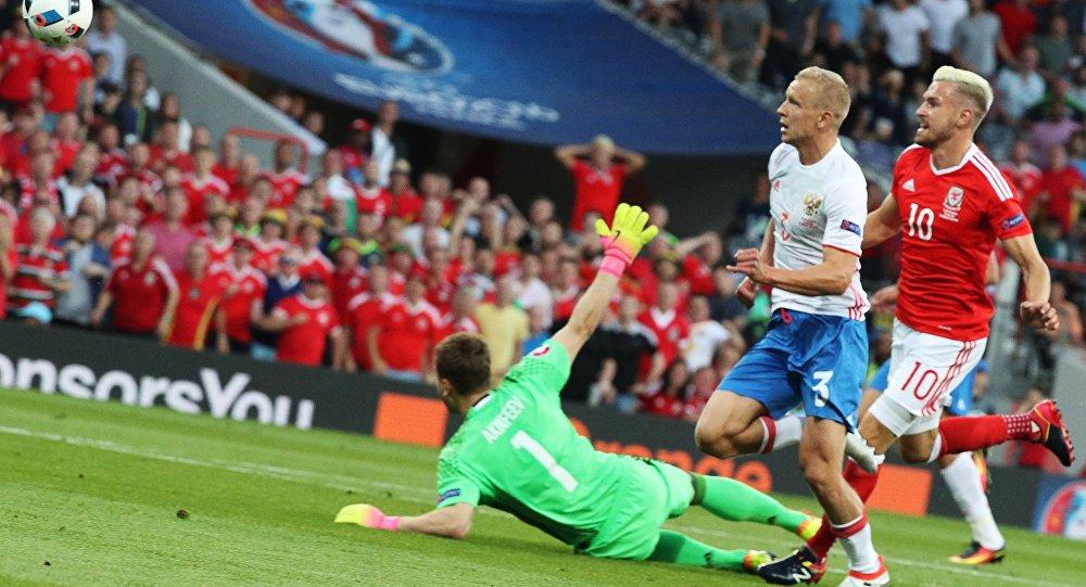 Match Russie - Pays des Galles