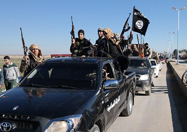 Des terroristes de Daech
