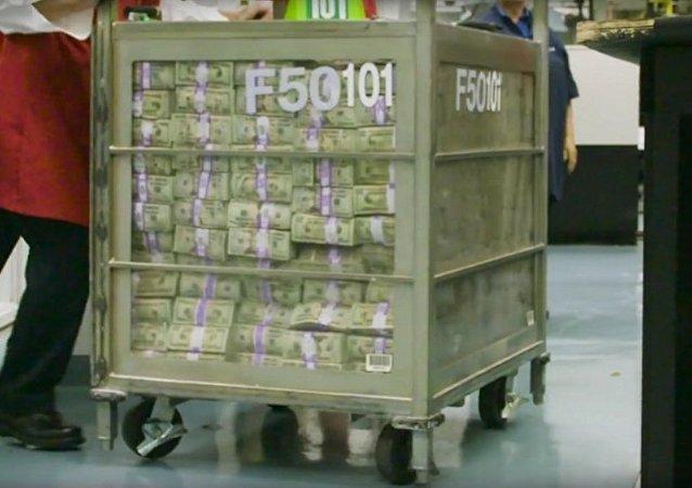 Les Américains transforment des dollars en terre