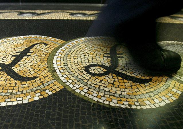 la salle devant la Banque d'Angleterre