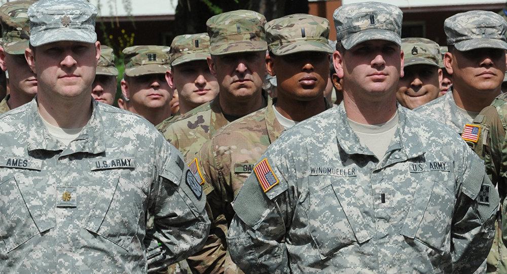 Les militaires américains