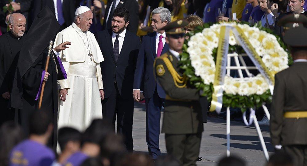 Pape François en visite en Arménie