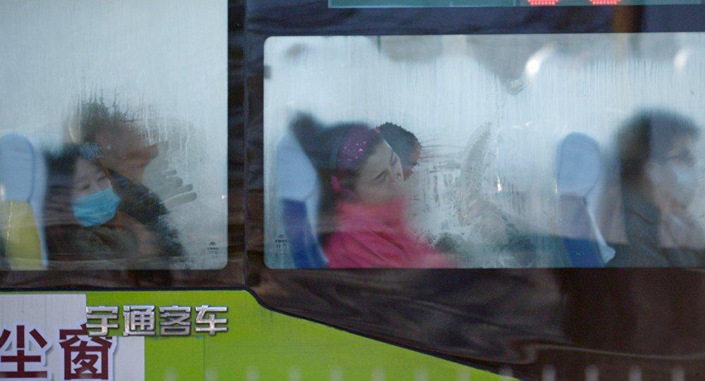 bus chinois, image d'illustration