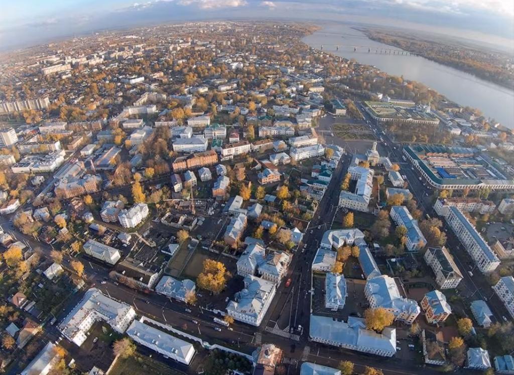 Panorama de Kostroma
