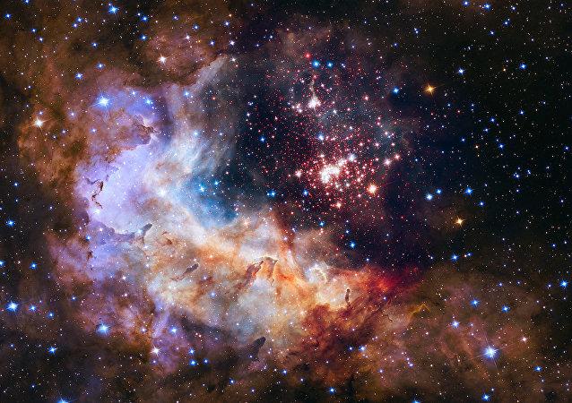 Une image réalisée par téléscope Hubble
