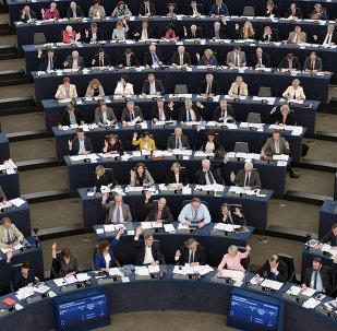 Les membres du Parlement européen