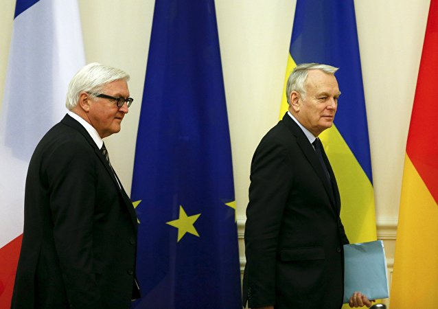 Frank Walter-Steinmeier und Jean-Marc Ayrault