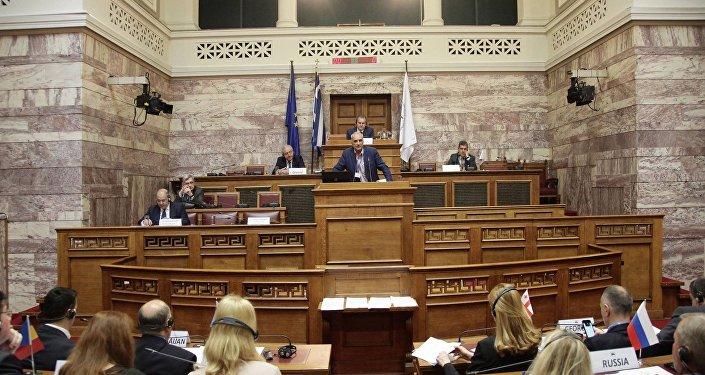 Assemblée parlementaire de la Coopération économique de la mer Noire (AP–CEMN). Archive photo