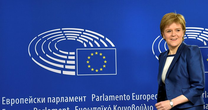 Nicola Sturgeon à Bruxelles