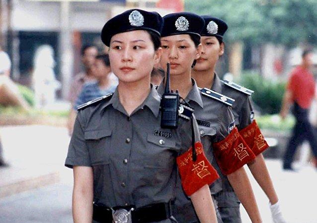des policières chinoises  (image d'illustration)