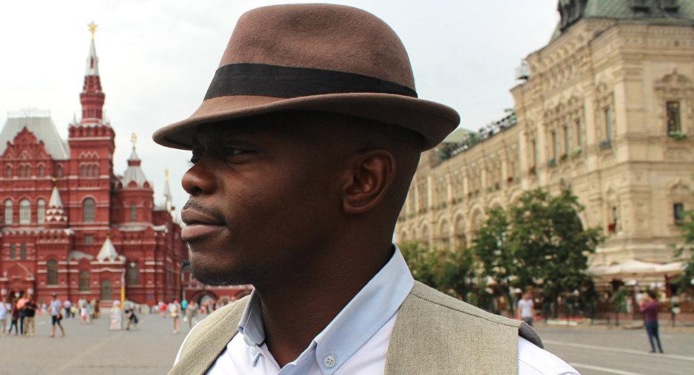 Léopold Tchape Sidjui, soliste du groupe Maroussia