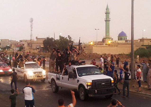 Combattants de Daech à Mossoul
