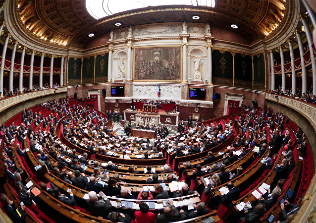 L'Assemblée nationale. Photo d'archive
