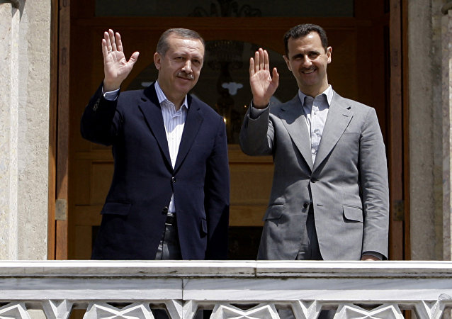 Assad et Erdogan