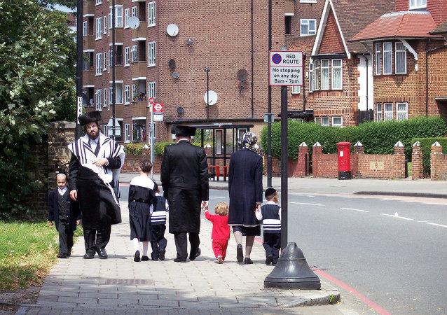 Des Juifs à Londres