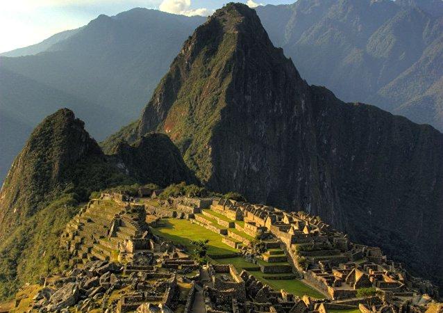 l'ancienne cité inca de Machu Picchu