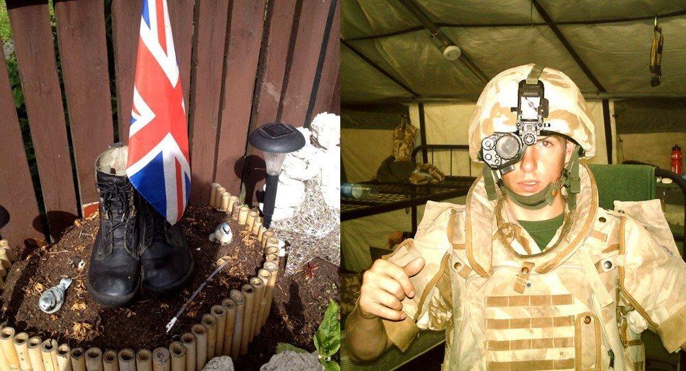 Michael Trench a été l'un des plus jeunes soldats britanniques à mourir en Irak