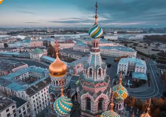 Saint-Pétersbourg, une des plus belles villes de Russie