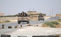 Les forces démocratiques syrienne près d'Alep
