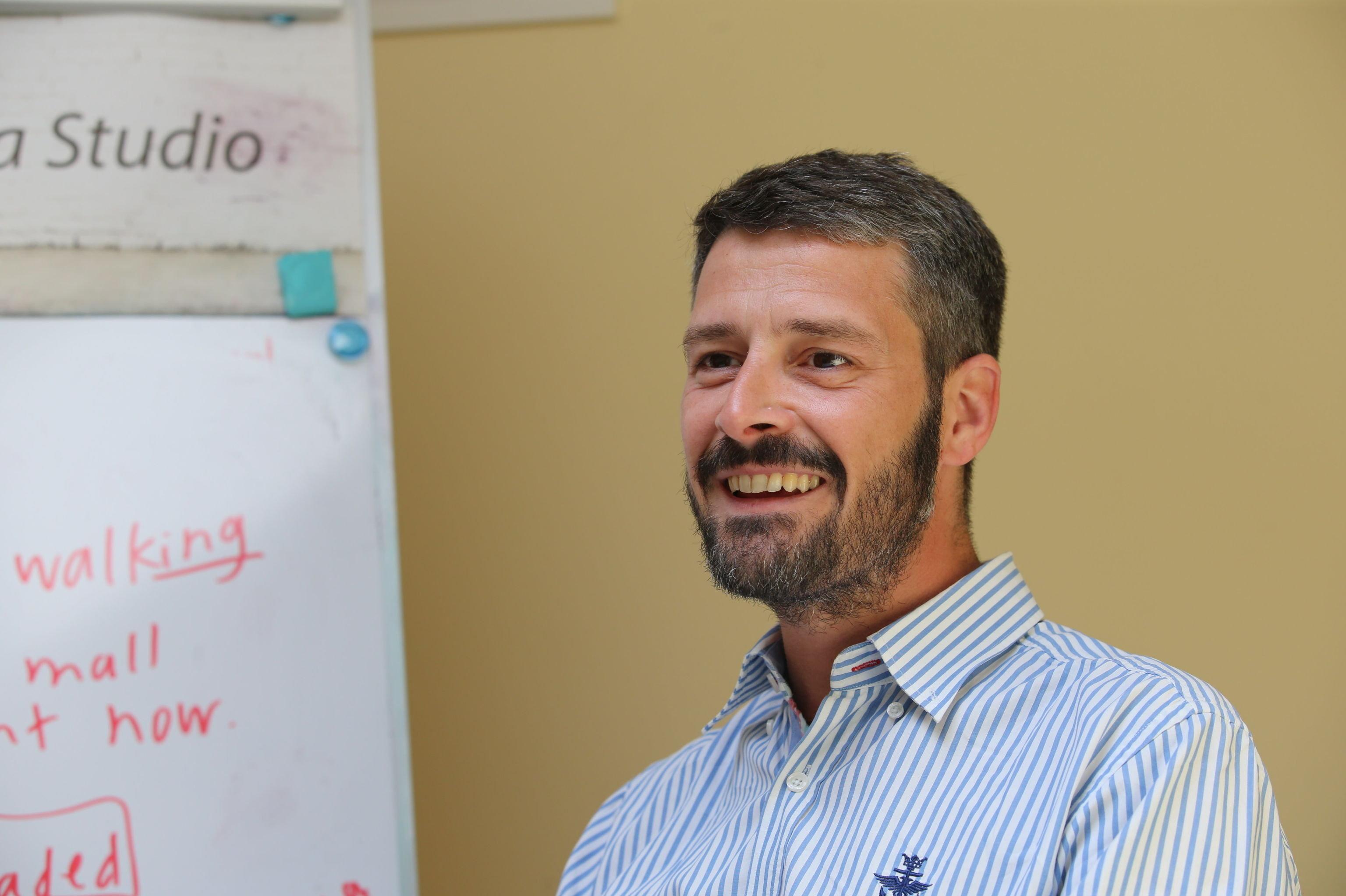 Amedeo Cigersa, entrepreneur et enseignant italien en Russie