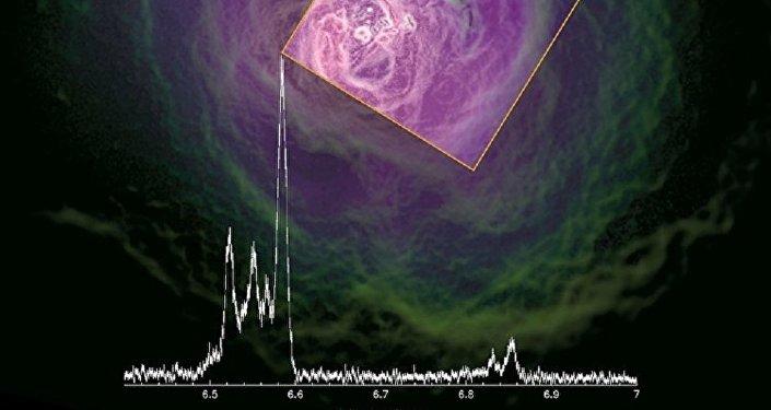 Dernière images du télescope japonais Hitomi