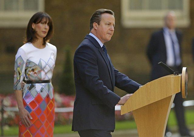 Le premier ministre britannique Cameron