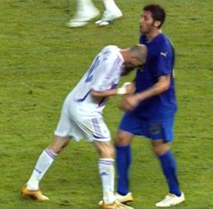 Le «coup de boule» de Zidane