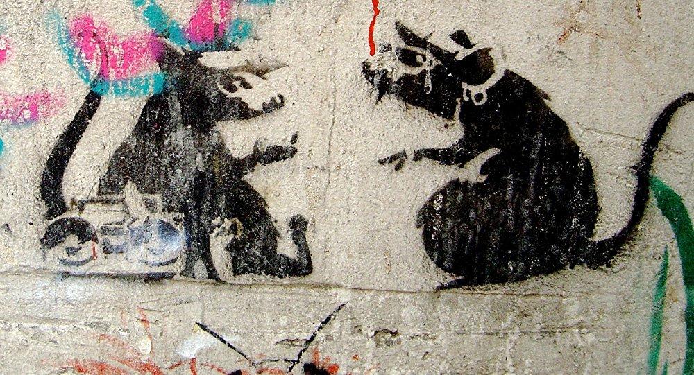 Le graffiti de Banksy détruit à Melbourne
