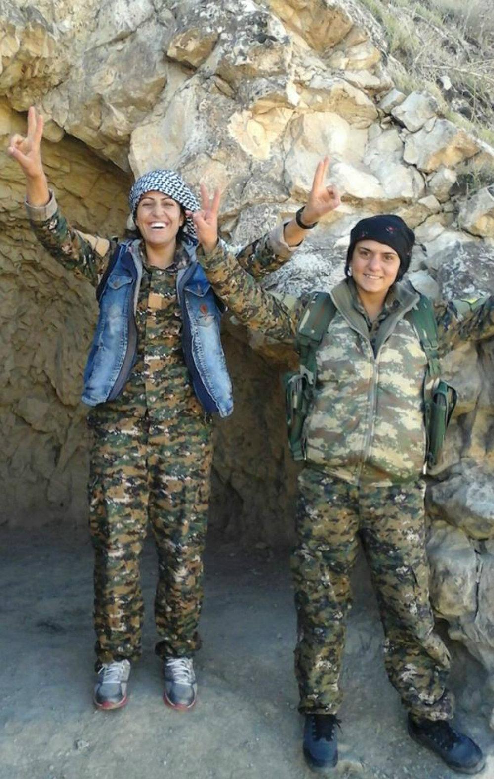 Les combattants yézidies- © Sputnik.