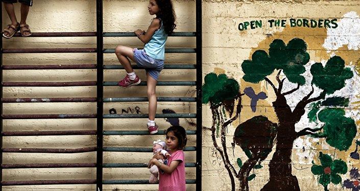 Des réfugiés, image d'illustration