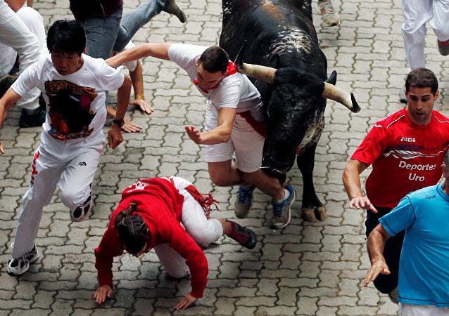 Loisirs dangereux: les Fêtes de San Fermín en Espagne