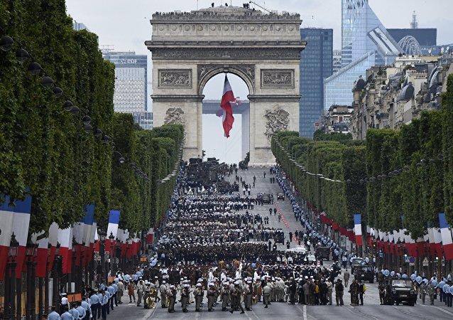 Le défilé du 14 juillet à Paris