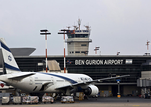 Aéroport international de Tel Aviv-David Ben Gourion. Photo d'archive