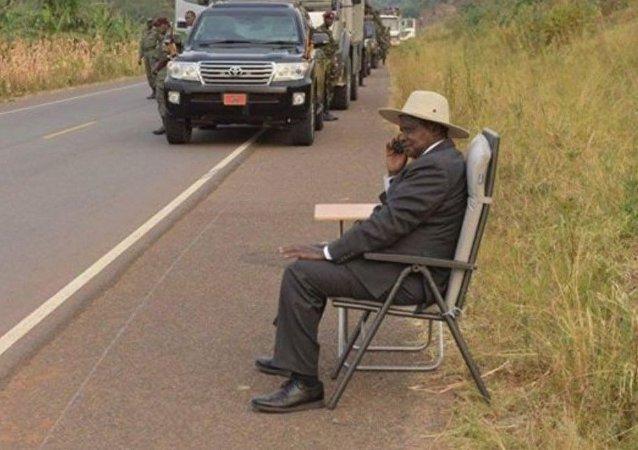 #M7Challenge: un mystérieux coup de fil au président ougandais agite la Toile