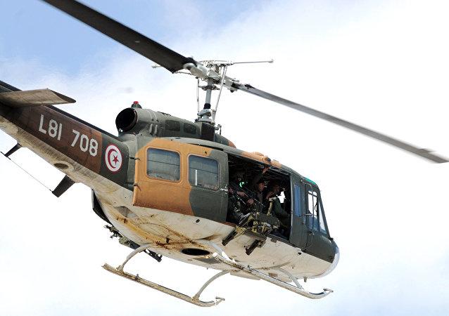 L'hélicoptère,Tunis