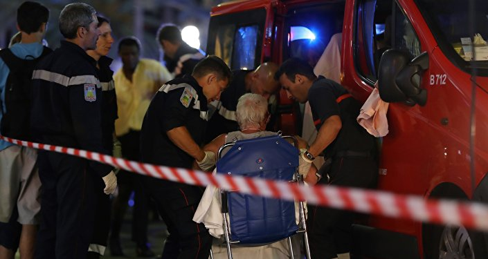 Une ambulance à Nice