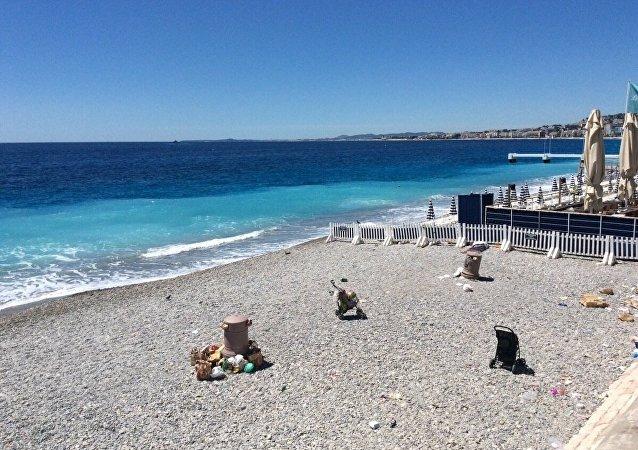 Attaque de Nice: un bébé perdu dans le chaos miraculeusement retrouvé