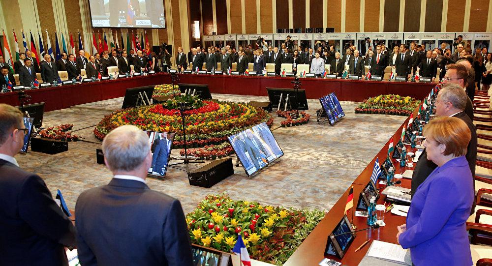Minute de silence au sommet d'ASEM à Ulaanbaatar, Mongolie