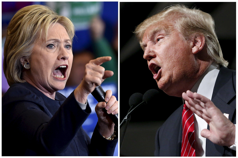 Trump et Clinton, deux candidats à risque pour les Américains